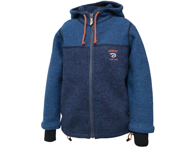 Ivanhoe of Sweden Block Chaqueta Capucha Niños, electric blue